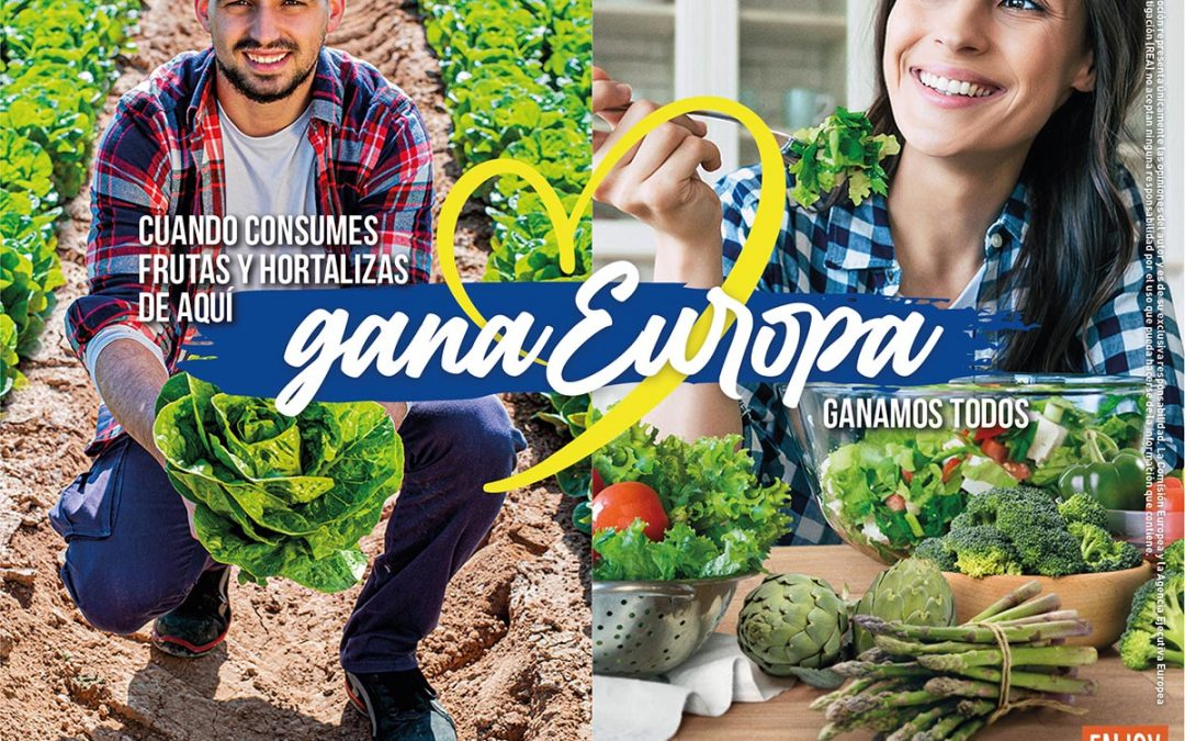 "FruitVegetablesEUROPE and the EU Launch ""CuTE4You"", an homage to the essential work of fruit and vegetable producers during the pandemic"